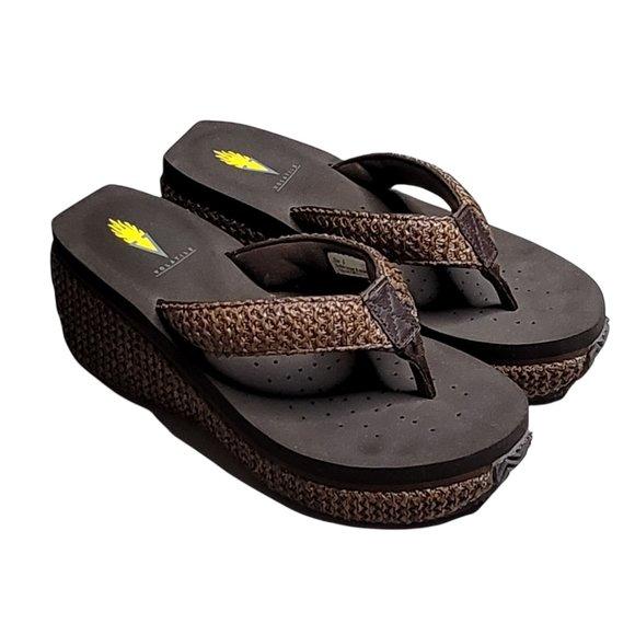Women's - Volatile Island Platform Sandals, Size 8